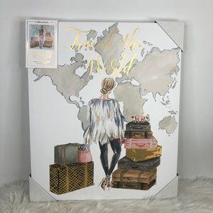 Colleen Karis Girl in Fur Travel The World Art